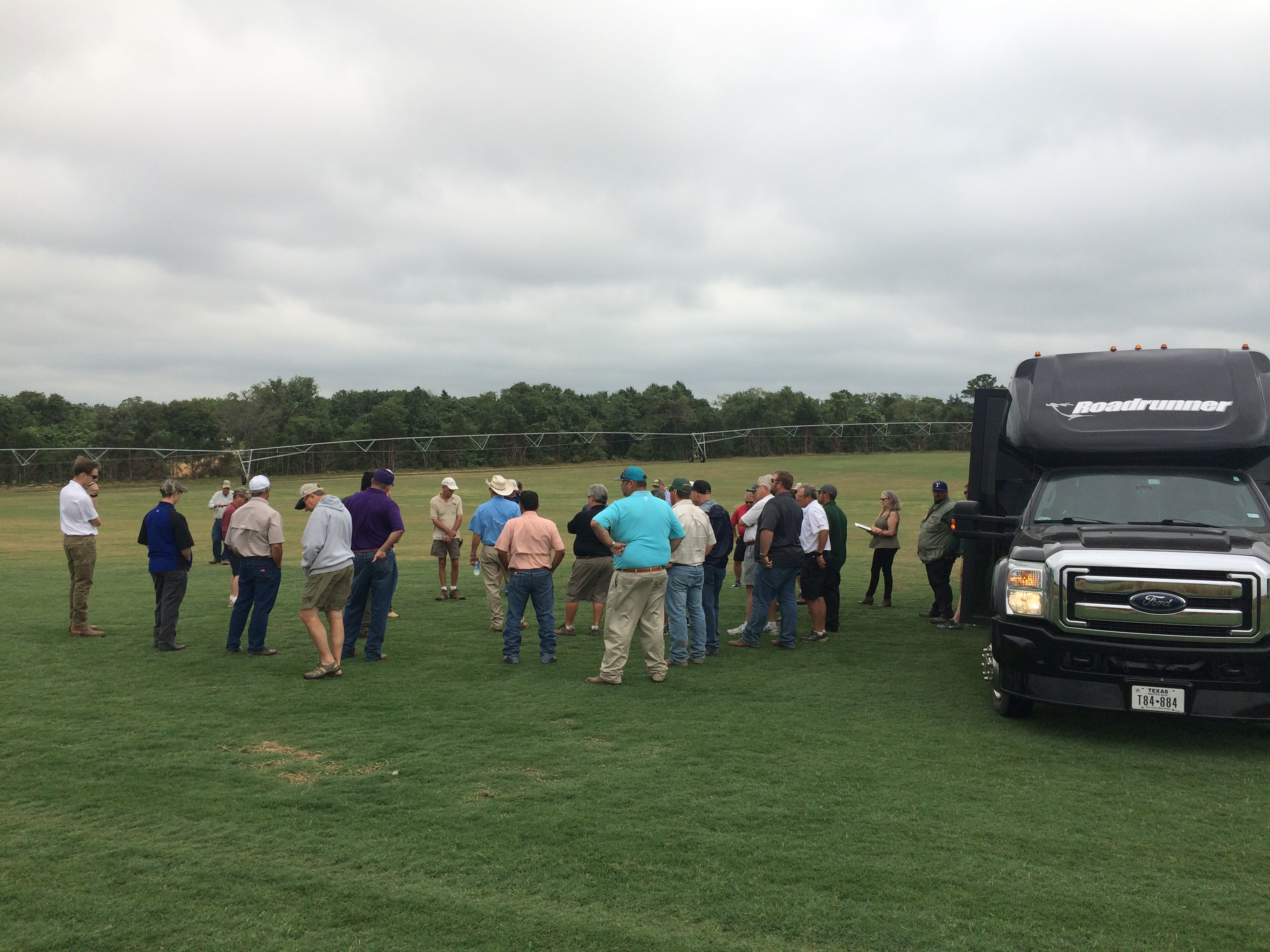TPI Staff Attend Local Sod Producer Events