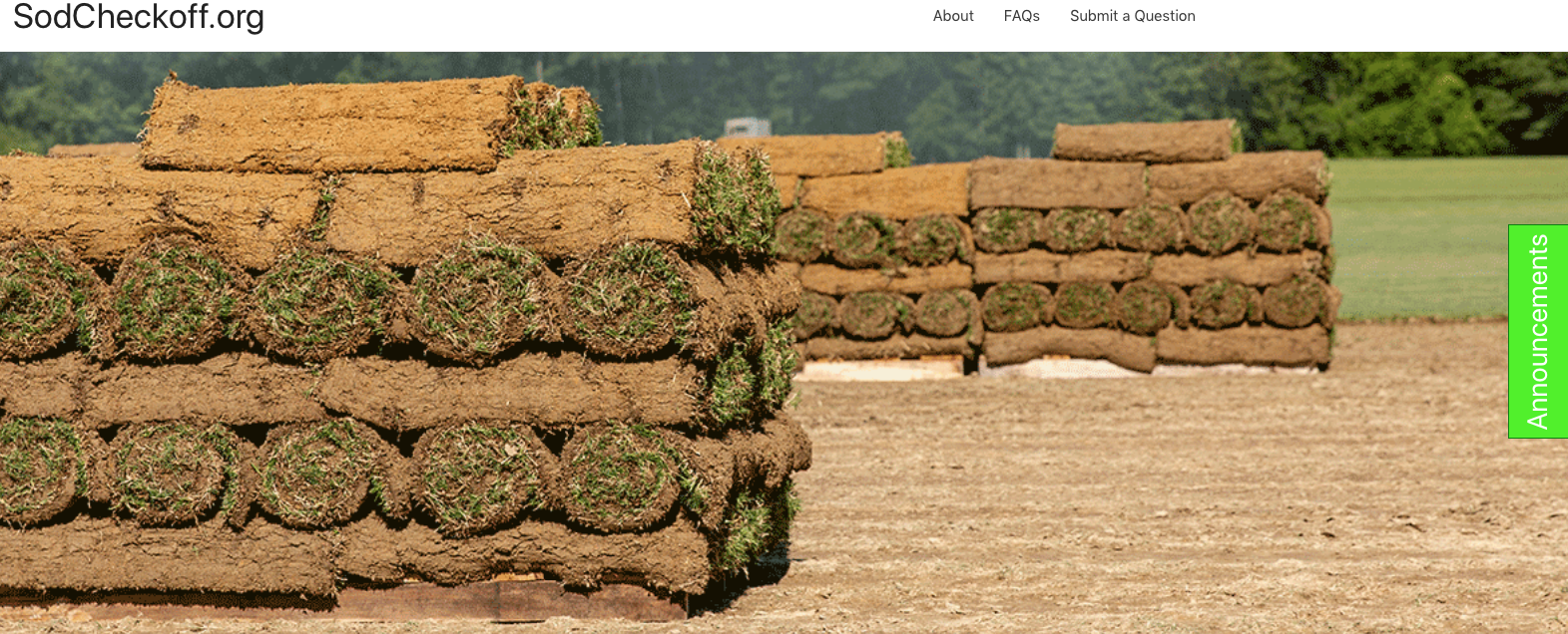 sod industry checkoff