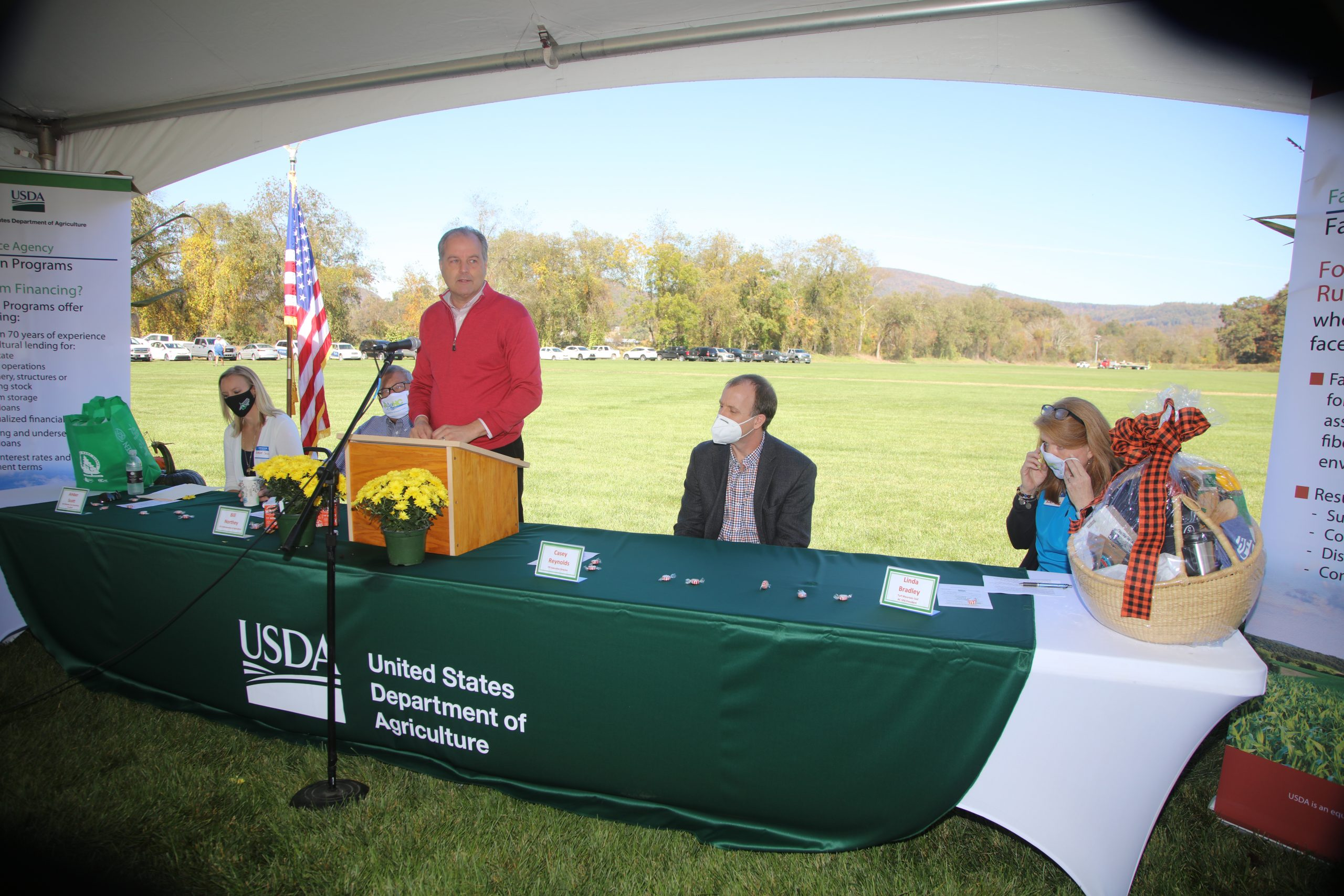 USDA Under Secretary Discusses Covid Impacts on Farms