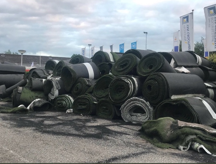 Concerns Raised Over Feasibility of Plastic Turf Recycling